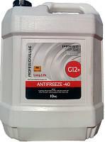 Антифриз PREST COOLANT -40 G12 Red Long Life 10кг червоний