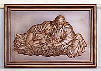 Резная Икона - Рождение 580х400