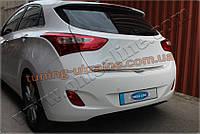 Нижняя кромка крышки багажника Omsa на Hyundai i30 2012-2015 хэтчбек