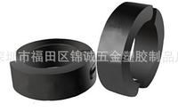 Серьга обманка для пирсинга сталь снаружи 14 мм внутри 9мм 2шт