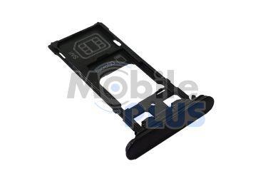 Sony F8332 Xperia XZ Cap Tray Assy, Black, original (PN:1304-9121)