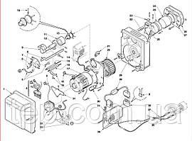 Запасні частини до пальника Riello BS 911T1 912T1 913T1 914T1