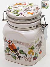 Банка для сыпучих продуктов Птицы