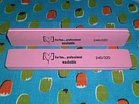 Пилка-баф для полировки ногтей двухстороняя 240/320
