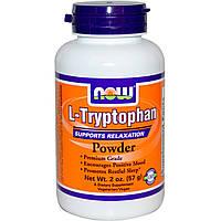Now Foods, L-триптофан в порошке (57 г)