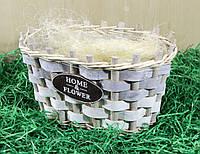 Набор кашпо декоративное для цветов 61345 grey