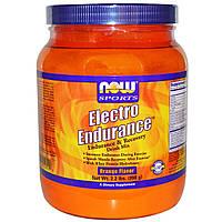 Now Foods, Electro Endurance, апельсиновым вкусом, (998 г)
