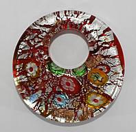 Муранское стекло (красный)