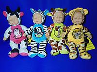 Текстильная кукла сплюшка Lucky baby, Коровка