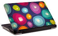 """Наклейка на ноутбук """"Цветная абстракция"""", глянцевая/матовая, для всех моделей ноутбуков"""