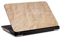 """Наклейка на ноутбук """"Белый медведь"""", глянцевая/матовая, для всех моделей ноутбуков"""