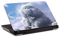 """Наклейка на ноутбук """"Неловкая тучка"""", глянцевая/матовая, для всех моделей ноутбуков"""