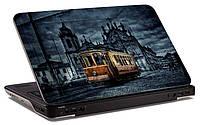 "Наклейка на ноутбук ""Старый трамвай"", глянцевая/матовая, для всех моделей ноутбуков"