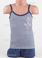 Детский комплект майка+шорты для девочки Турция. MORAL BETUL 01-6. Размер 4-5 лет.