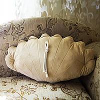 """Интерьерная декоративная подушка """"Ракушка"""""""