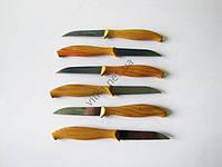 Ножи в наборе из 6-ти с пластмассовой ручкой