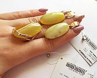 Комплект из серебра с золотыми накладками Пламена
