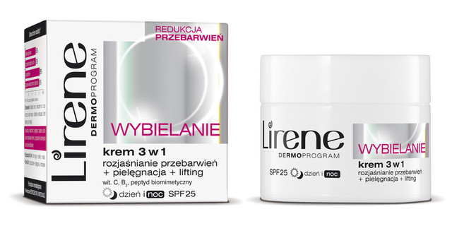 Новинка на нашем сайте, Инновационный отбеливающий крем SPF25 Lirene