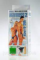 Трусики со страпоном Harness 6 Inch Realistic Cock