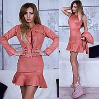 Платье+пиджак, разные цвета