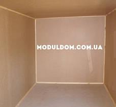 Хозблок под склад (6 х 2.4 м.), металлический каркас, фото 3