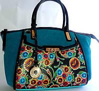 Роскошная сумка из натуральной  кожи  от Velina Fabbiano