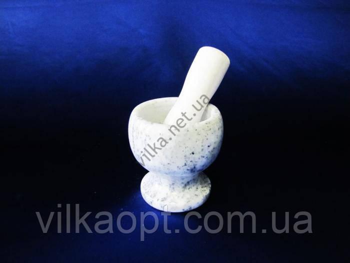 Ступка каменная 18302 - d 10 cm. h 10,5 cm.