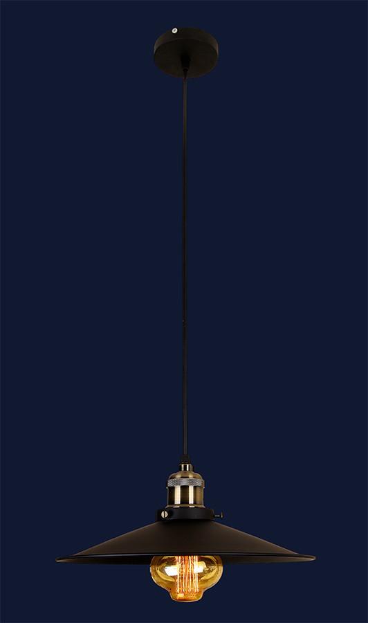 Светильник подвесной LOFT L526856-1 BK (360)