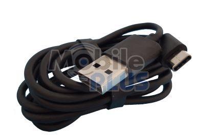 Дата кабель USB - Type-C Прорезиненный (0,9m) Black