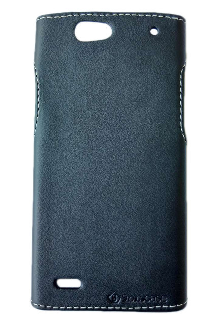 Чехол накладка Status для LG Leon Y50 H324  Black Matte