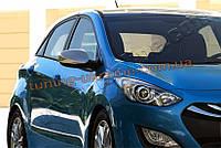 Накладки на зеркала Omsa на Hyundai i30 2012-2015 хэтчбек