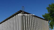 Мобильный дачный домик (6 х 2.4 м.), металлокаркас, фото 3