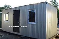 Бытовка для дачи 6х2,4м - металлокаркас