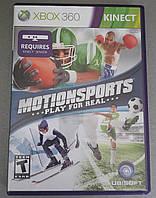 Игра xbox 360 MotionSports регион NTSC