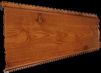Металлосайдинг SUNTILE Доска (Printech) вишня 0,45 мм, фото 1