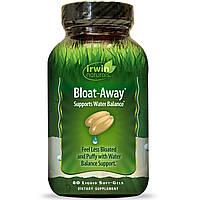 Irwin Naturals, Bloat-Away, диуретик 60 жидких гелевых капсул