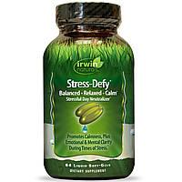 Irwin Naturals, Stress-Defy, 84 жидких желатиновых капсул