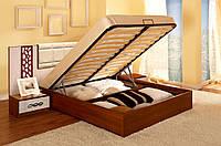 Короб кровати с подъемным механизмом на металлическом каркасе с ламелями 12, 160х200