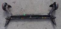 Балка задней подвески под барабаны в сборе без ABS 4-х торсионнаяRenaultKangoo1997-20077701471649, 7700769