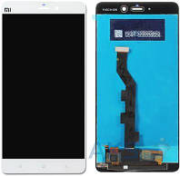 Дисплей (экран) для телефона Xiaomi Mi Note + Touchscreen White
