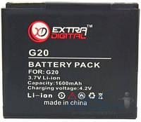 Аккумулятор HTC Raider 4G X710e / G20 / G19 / BH39100 / BMH6386 (1600 mAh) ExtraDigital