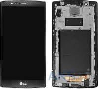 Дисплей (экран) для телефона LG G4 H815 + Touchscreen with frame Original Black