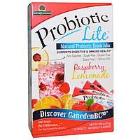 Nature's Answer, Probiotic Lite, малиновый лимонад, 10 пакетиков 0,88 унции (25 г)