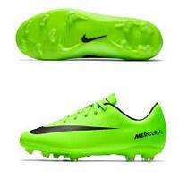 Детские бутсы футбольные Nike Mercurial Vapor XI FG