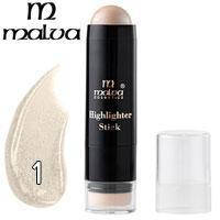 Хайлайтер-стик со спонжем Highlighter Stick M-484 Malva тон 01