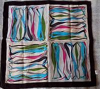 Платок шейный из натурального шелка 100% Атлас 50*50см