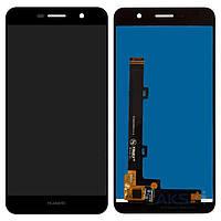 Дисплей (экран) для телефона Huawei Y6 Pro, Enjoy 5 + Touchscreen Original Black