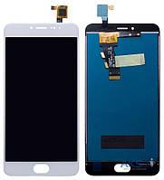 Дисплей (экран) для телефона Meizu M3s Mini + Touchscreen Original White