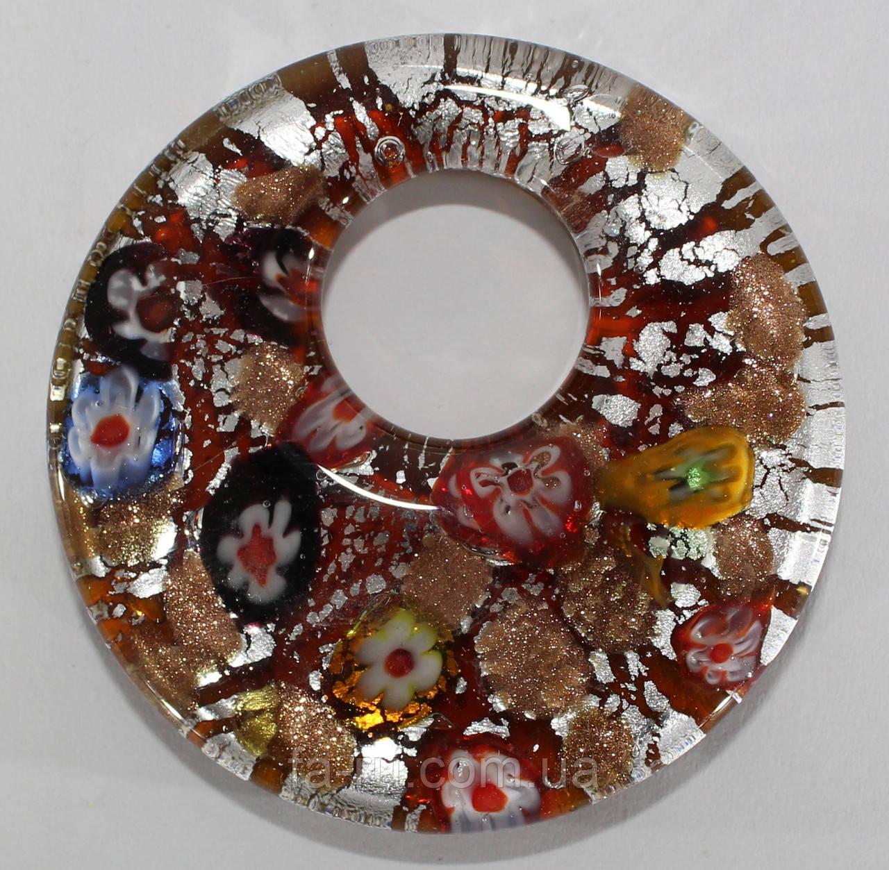 Муранское стекло (оранжевый)