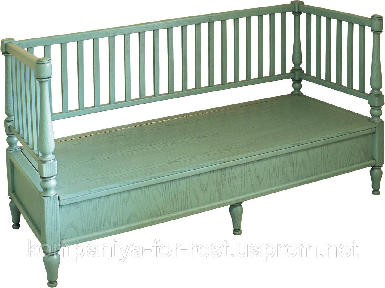 """Кровать-диван в стиле прованс коллекции """"Марсель"""""""
